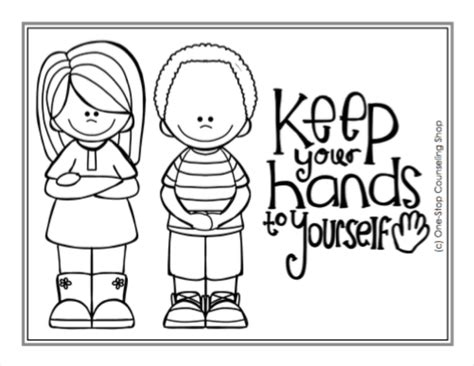 Manners Coloring Pages - Democraciaejustica