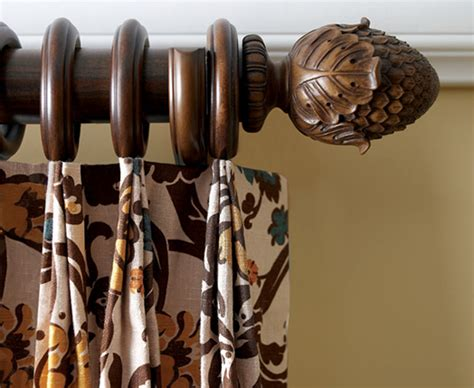 kirsch decorative wood drapery hardware kirsch wood poles