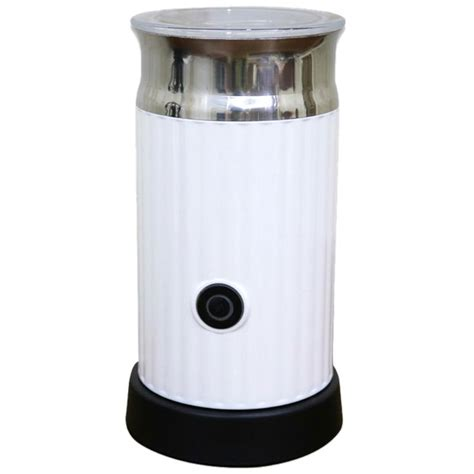 This makes very nice foam, and you can use your wand for other purposes as well: SANQ Automatic Milk Frother With Stainless Steel Container ...
