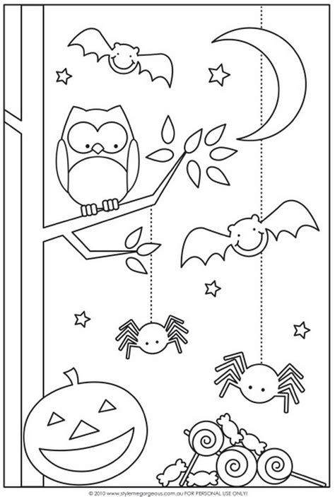 fun halloween coloring pages  kids hative