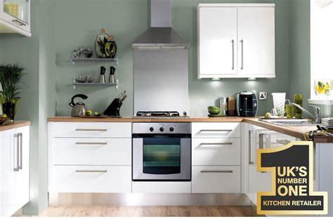 kitchen unit lights b q our kitchen ranges white gloss slab diy at b q 6360