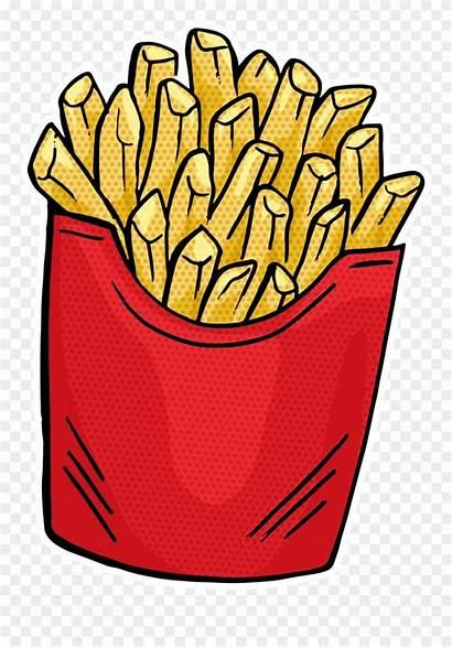 Clipart Junk Fries Fast French Junkfood Hamburger