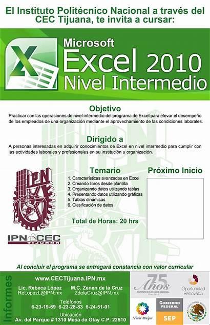 Excel Intermedio Ipn Mx