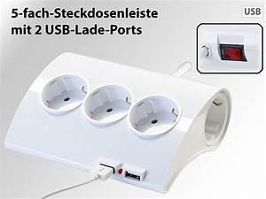 Steckdosenleiste Mit Usb : revolt 5 fach tisch steckdosenleiste mit 2 usb ports auch ~ A.2002-acura-tl-radio.info Haus und Dekorationen