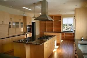 Handmade Modern Maple Kitchen by Gardner Woodworking Inc