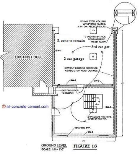garage floor plans garage floor home addition plans