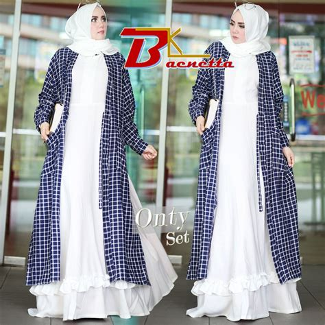 gamis kotak ori murah n ori collection onty by baenetta