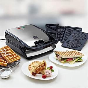 Appareil De Cuisson Multifonction : appareil multifonction pour panini gaufres belges ~ Premium-room.com Idées de Décoration