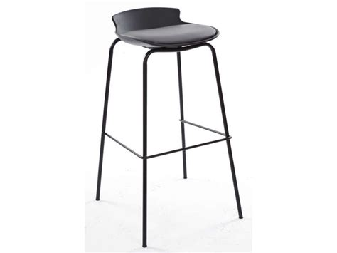 tabouret de bar de cuisine tabouret de bar sohan coloris noir gris vente de chaise de cuisine conforama