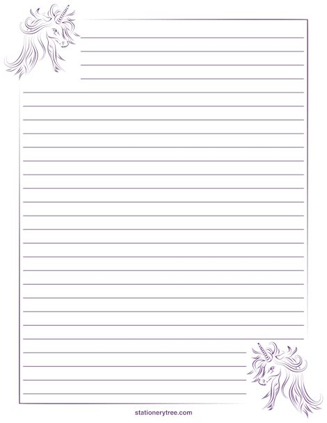 lined stationery paper printable   aashe