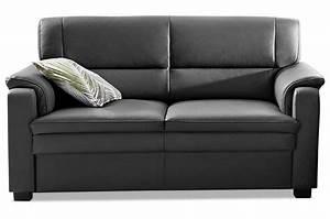Sofa Zum Halben Preis : leder 2er sofa schwarz mit federkern sofas zum halben preis ~ Eleganceandgraceweddings.com Haus und Dekorationen