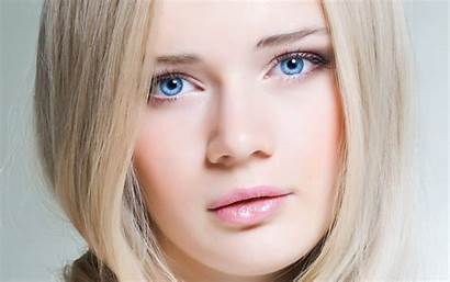 Pretty Faces Wallpapers Eyes Blonde Face