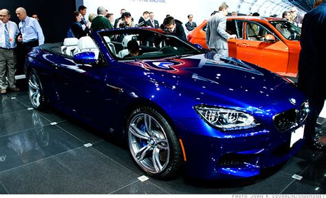 Cool Cars From The New York Auto Show Bmw M6 Convertible