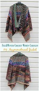 Fall  U0026 Winter Women Cardigan Free Crochet Patterns