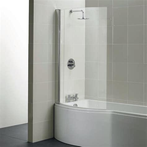 Bath Shower by Santorini 100cm Shower Bath Screen Bath Screens
