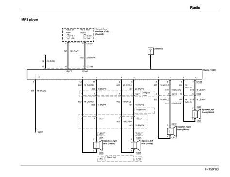 electrical diagram   radio ford forums mustang