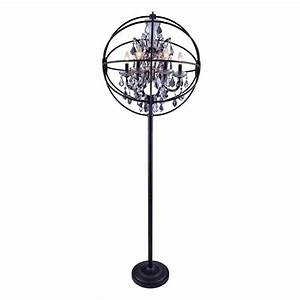 simple designs 715 in silver mother daughter floor lamp With 5 light floor lamp home depot