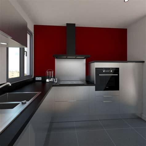 cuisine et accessoires cuisine design tout inox meubles fond de hotte évier de