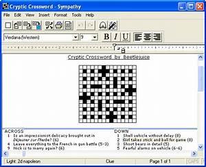 Sympathy Crossword Construction Download  U0026 Reviews