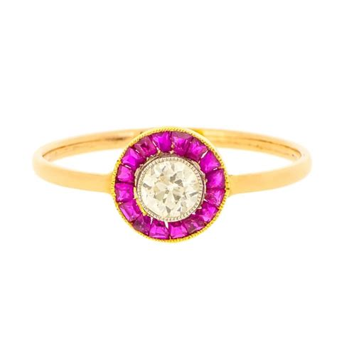 deco ruby and target ring