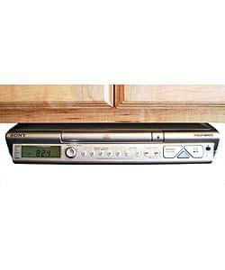 bose under cabinet radio icfcdk50 sony under cabinet kitchen cd clock radio at abt