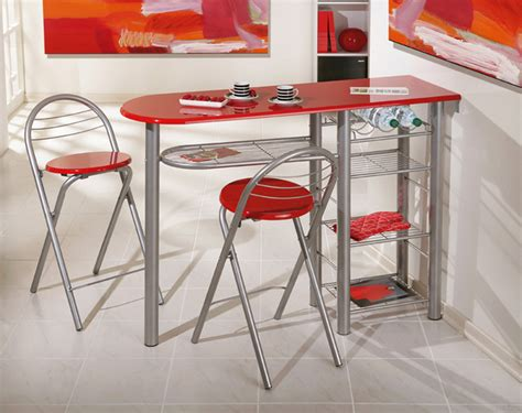 tables de cuisines ensemble table bar 2 tabourets brigitte