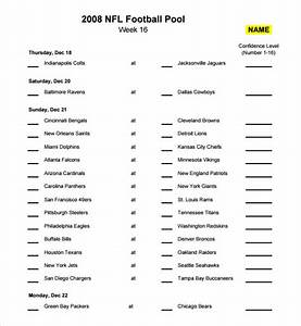 sample football pool 7 documents in pdf word excel With football betting sheet template