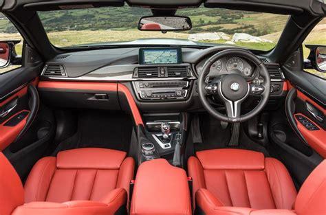 bmw m4 interior bmw m4 convertible review 2017 autocar