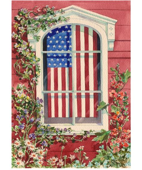 toland garden flags toland 28 x 40 in spangled window house flag at