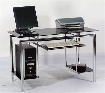 Computer Meja Komputer Desk Glass Desks Office
