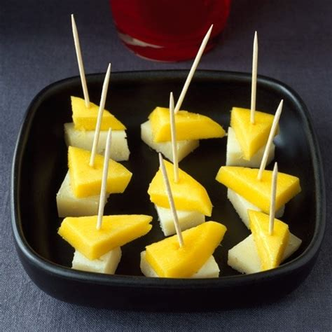 easy food ideas canapes housekeeping