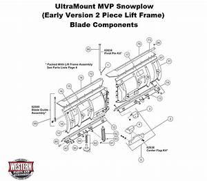 V-plow Diagrams - Ultramount Snowplow Diagrams