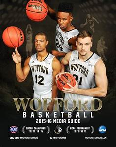 2015-16 Wofford Men's Basketball Media Guide by Wofford ...