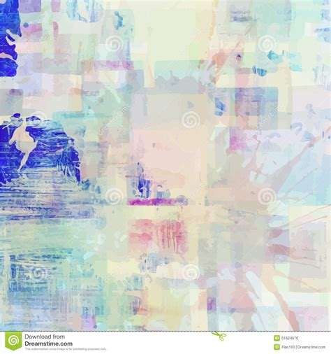Abstract Shapes Watercolor by Pattern Of Colorful Abstract Watercolor Geometric Stock