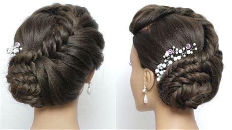side juda hairstyle  long hair tutorial bridal braid