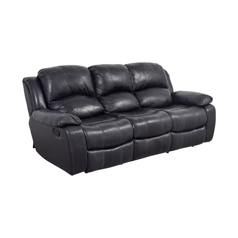 black leather recliner loveseat 70 black leather reclining sofa sofas