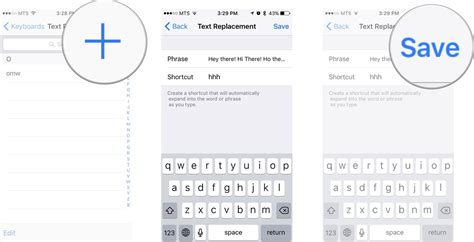 shortcuts on iphone how to use text shortcuts on iphone and imore