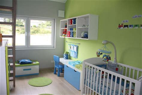 chambre garcon vert et gris deco chambre bebe vert et gris