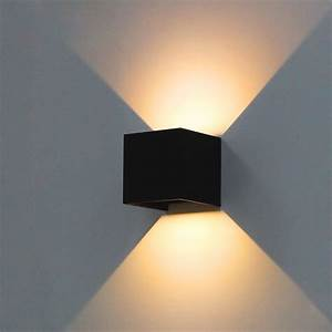 Modern Brief Cube Adjustable Surface Mounted Wall Sconce