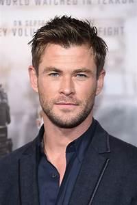Chris Hemsworth's New Hair and Mustache Facial Hair