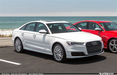 first drive audi a6 2 0t quattro audiworld