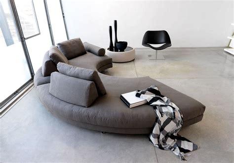 canapé rond but canapé demi lune et canapé rond 55 designs spectaculaires