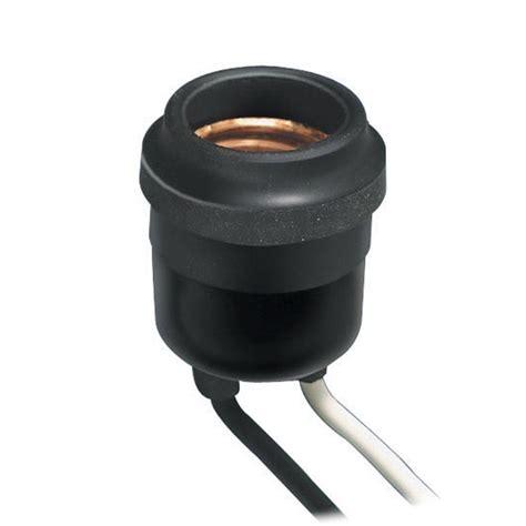 light bulb socket leviton weatherproof socket black r60 00055 000 the