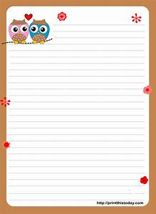 1000 images about free printable stationary on pinterest With letter writing paper