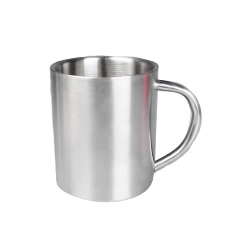 Young's 4 piece ceramic coffee mug set. New Coffee Mug Double Wall Thick Stainless Steel Tea Children Milk Drinkware 220 ML 300ML 400ML ...