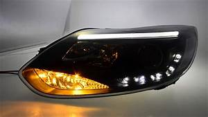 Ford Focus Mk3 Tuning : sw ltube scheinwerfer ford focus mk3 dyb lighttube sw ~ Jslefanu.com Haus und Dekorationen