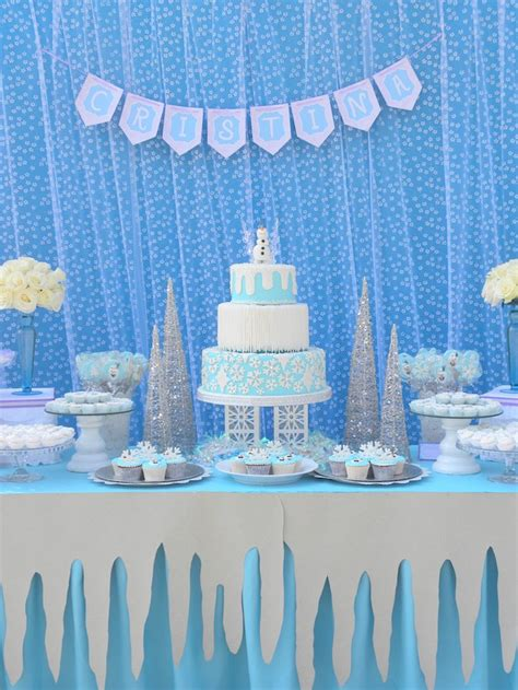 karas party ideas frozen birthday party