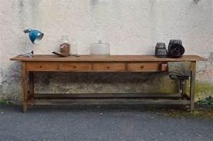 Table De Drapier : table de drapier isaline l 39 atelier belle lurette r novation de meubles vintage ~ Teatrodelosmanantiales.com Idées de Décoration