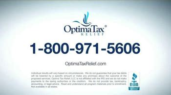 optima tax relief tv commercial  big bad irs