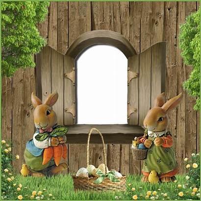 Easter Frame Freebie